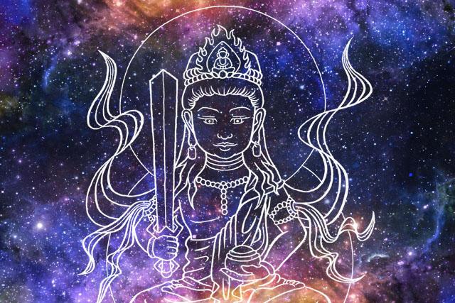 虚空蔵菩薩と宇宙